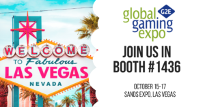 G2E will be exhibiting at G2E 2019.